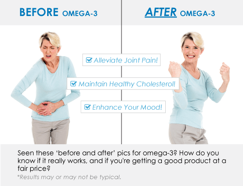 omega3 before and after